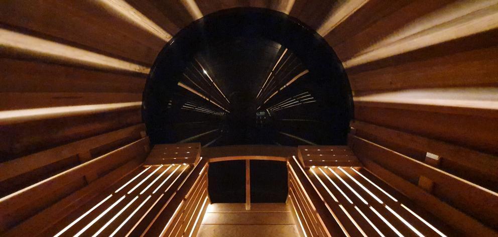 The Sauna at Nest.