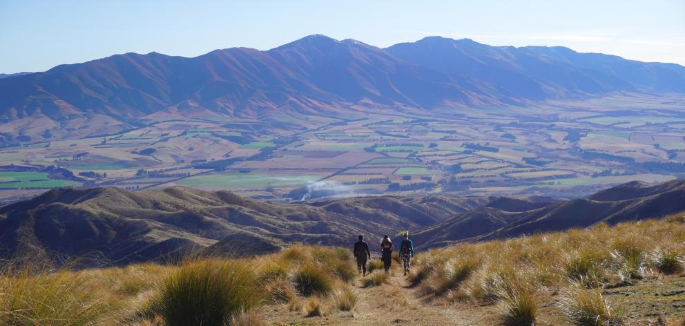 Magnificent views can be seen from Sole to Soul's guided walk on the top of Collie Hills farm....