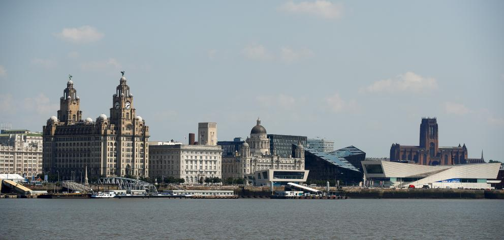 A view of Liverpool from across the River Mersey, in Birkenhead. Photo: Reuters