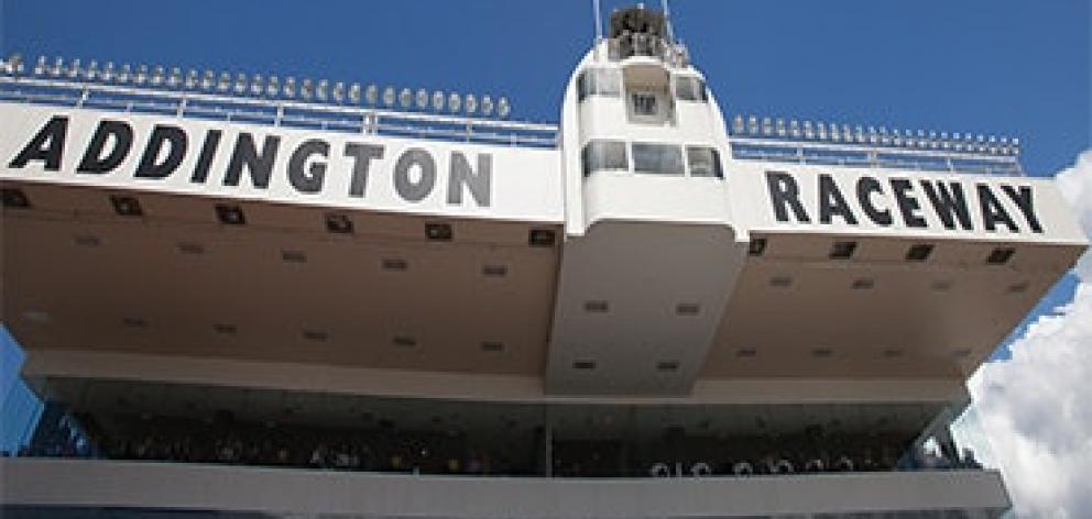Addington Raceway. Photo: HRNZ