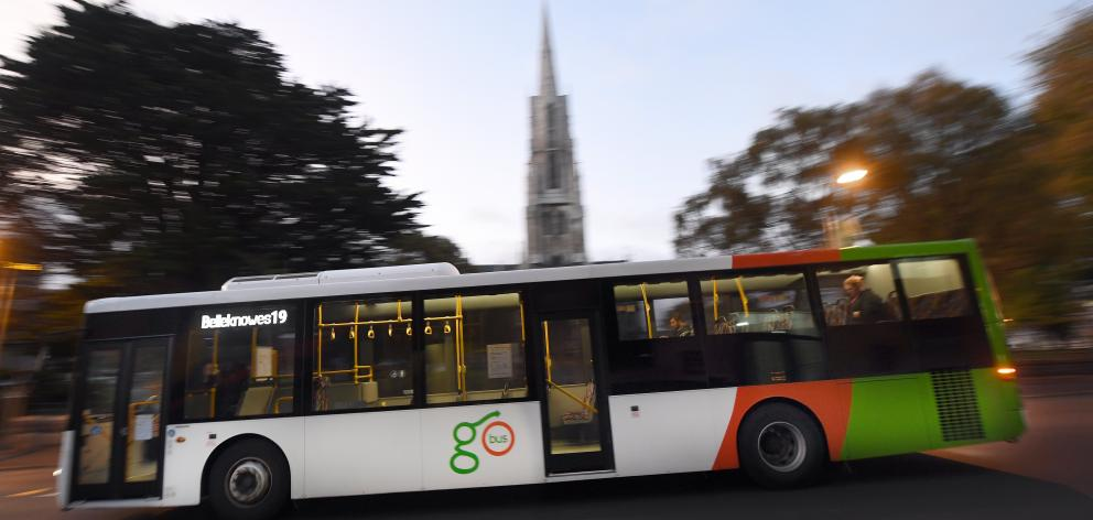 Go bus has purchased McDermott Coachlines. Photo: ODT files