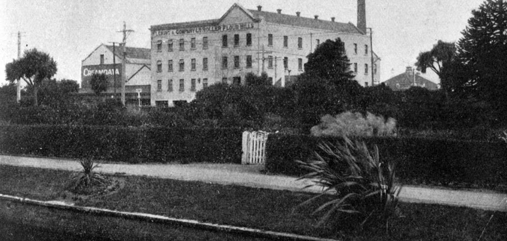 Fleming and Co's Invercargill mill. — Otago Witness, 16.8.1921