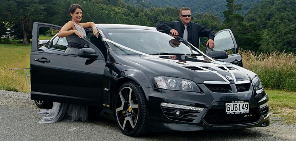 Anna McGlinchey's prized Holden was taken from a city car yard. Photo: Supplied