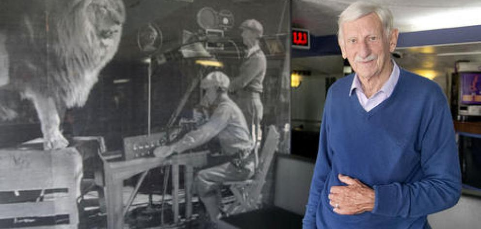 Lang Masters has owned the cinema for more than 60 years, and will remain part of the team. Photo...