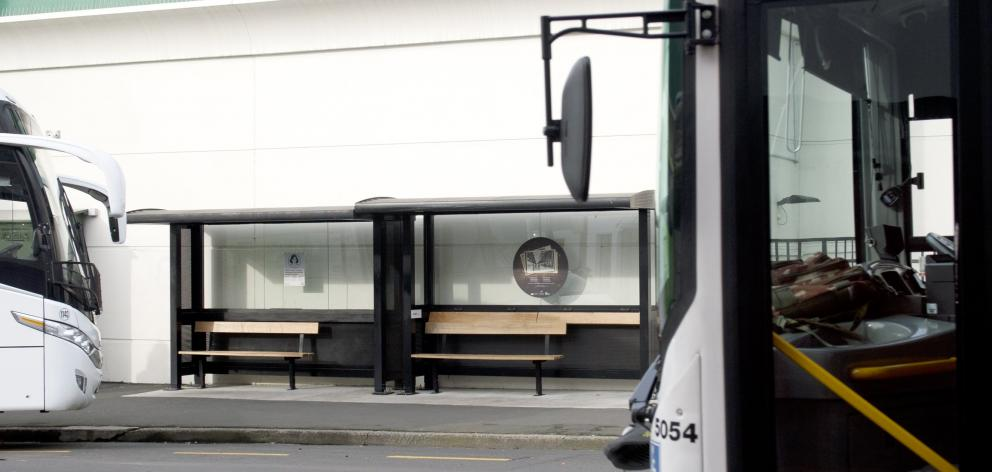 A Dunedin bus shelter in Moray Pl will have to be fixed after it was found some stops do not meet...