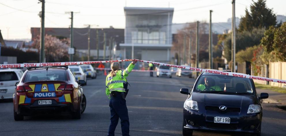 A person has been arrested after an alleged serious assault in Christchurch this morning. Photo:...