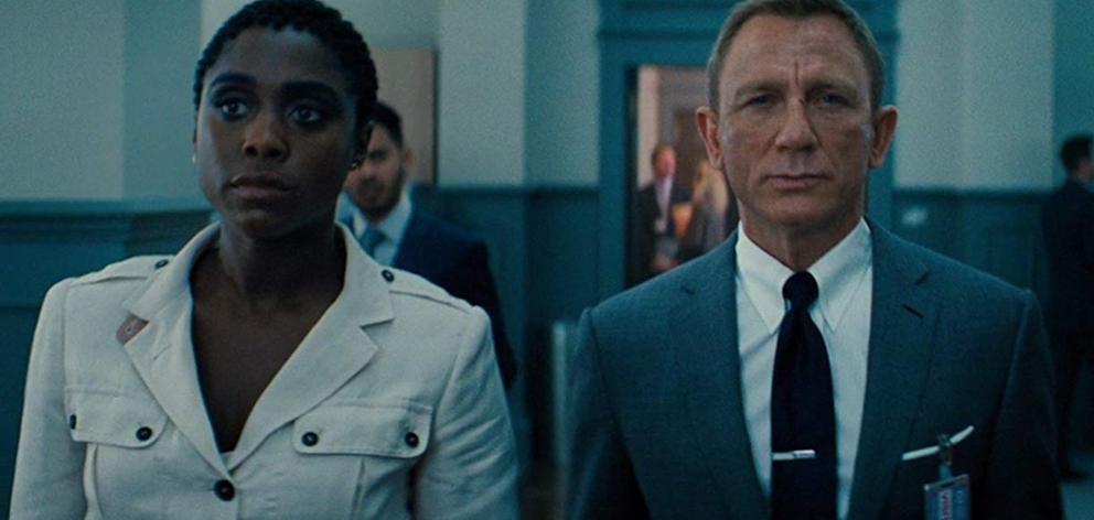 Lashana Lynch and Daniel Craig in No Time to Die. PHOTO: MGM