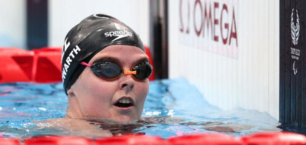 Nikita Howarth came sixth in the 50m butterfly final tonight. Photo: Getty Images