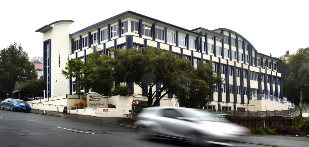 The Otago Regional Council building in Stafford St. PHOTO: PETER MCINTOSH