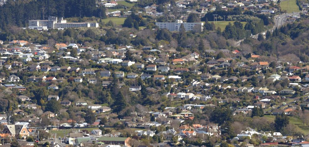 Wakari Hospital sits atop the suburb that shares its name. PHOTO: GERARD O'BRIEN