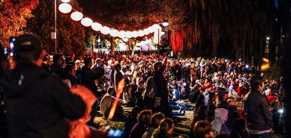 The South Island Moon Festival has been rescheduled for spring 2022. Photo: Newsline / CCC