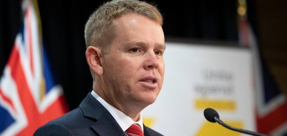 Covid-19 Response Minister Chris Hipkins. Photo: NZ Herald