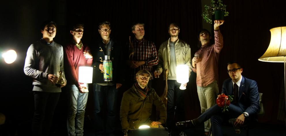 The Jac (From left): Daniel Millward, Jake Baxendale, Matthew Allison, Chris Buckland, Nick...