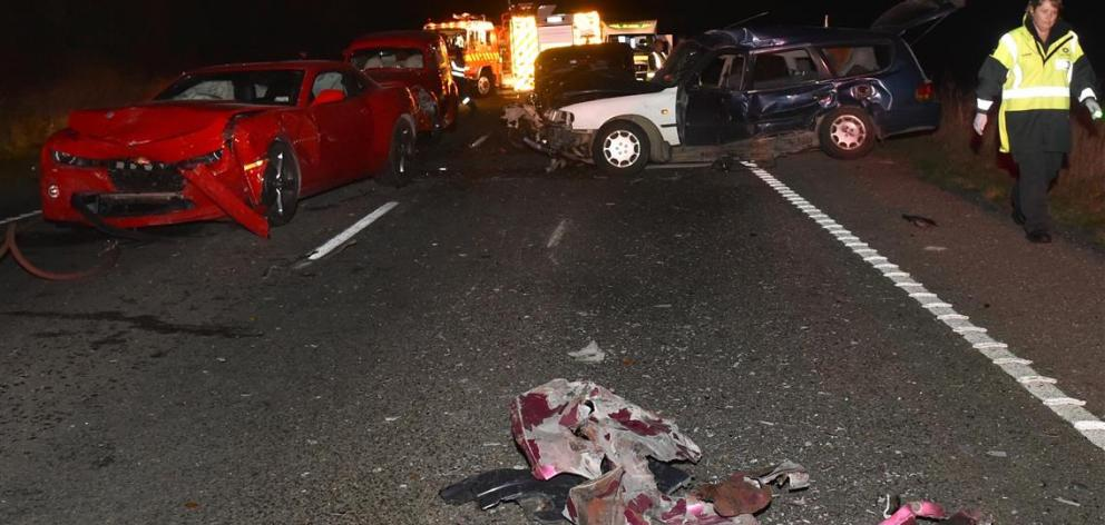Driver smoked weed before causing fatal five-car crash | Otago Daily ...