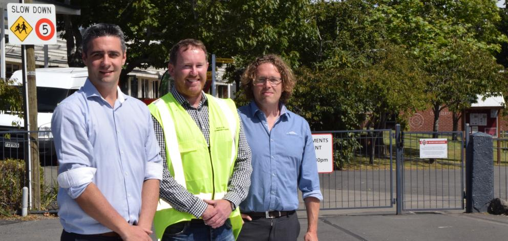 Celebrating the safety improvements made to aid safety and traffic flow in Sickels St, Fairfield...