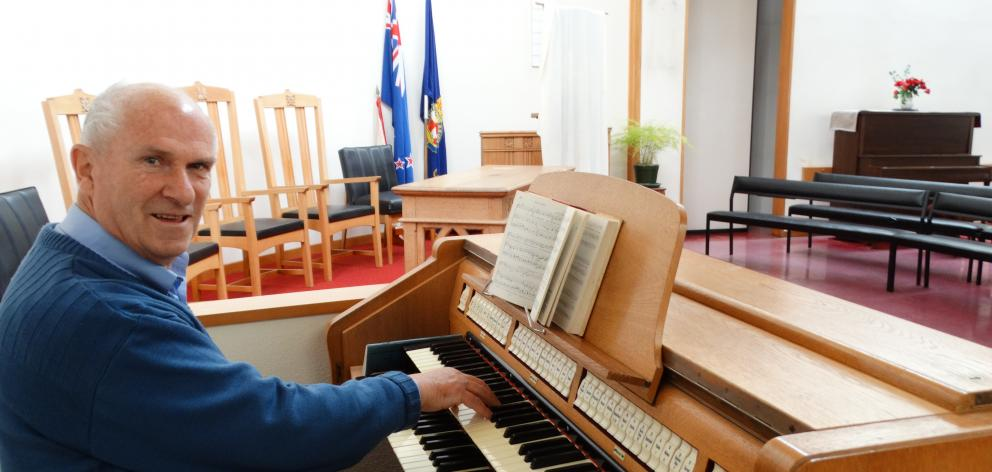 St Margaret's Presbyterian Church organist Rodney Clayton is looking for singers to form a...