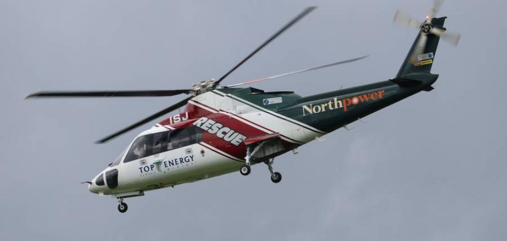 The Northland Rescue Helicopter had been called and was landing at a nearby sports ground to take...