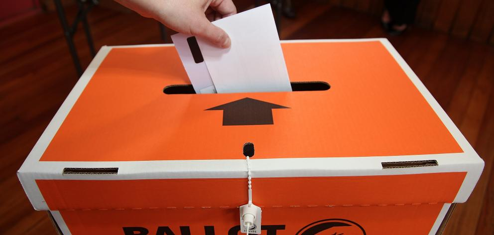 The general election will be held on September 23. Photo: ODT files