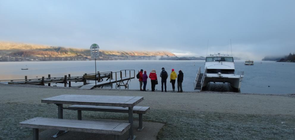 A cool start to the day in Wanaka on Wednesday. Photo: Kerrie Waterworth