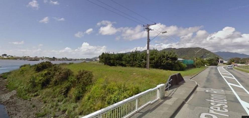 The entrance to the West Coast wilderness trail in the Greymouth suburb of Blaketown. Photo: NZ...