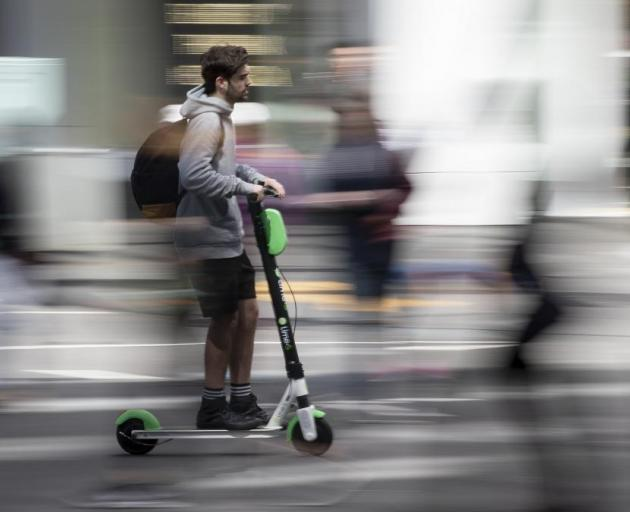 Lime scooters have a week to state their case. Photo: NZ Herald