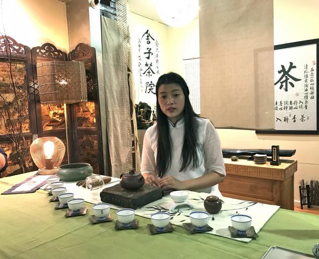 The tea ceremony at Topotea.