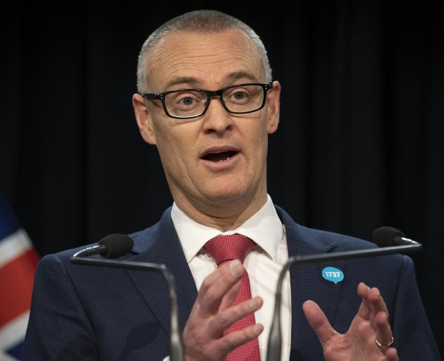 David Clark launches the Simpson review of the health system. PHOTOS: NZ HERALD