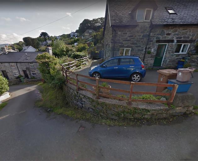Ffordd Pen Llech is in the Welsh town of Harlech. Photo: Google