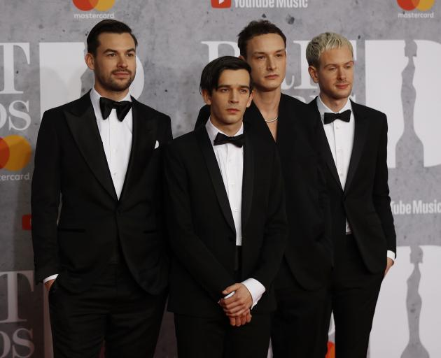 The 1975 won BRITs for British Group and Album of the Year. Photo: Reuters