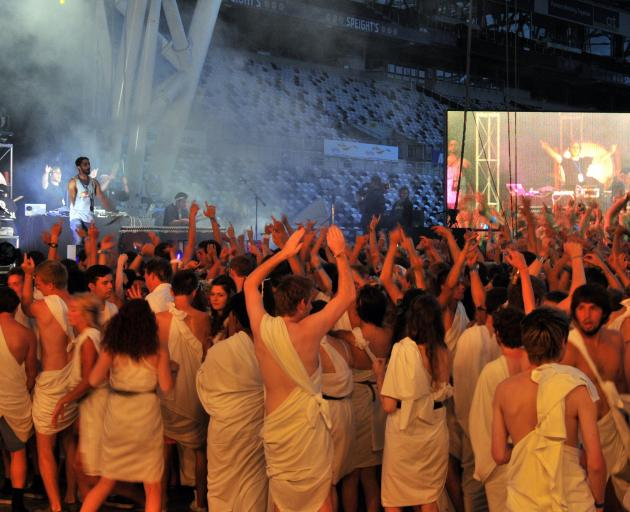 The ever-popular toga party will be held again this year. Photo: ODT files