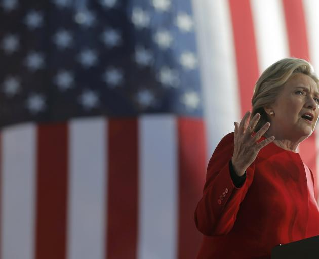 Final Day's Polls Give Hillary Clinton a Narrow Lead