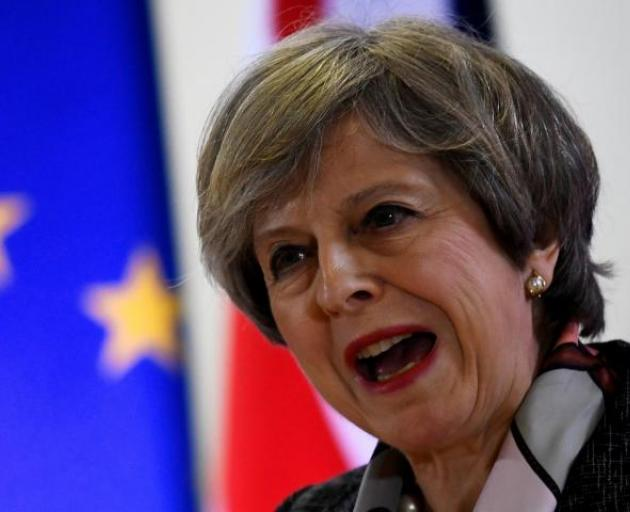 Prime Minister Theresa May. Photo: Reuters