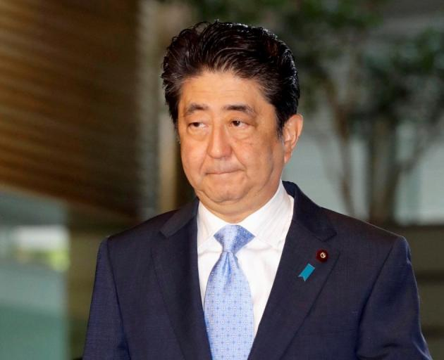 Japanese leader Shinzo Abe. Photo: Getty Images