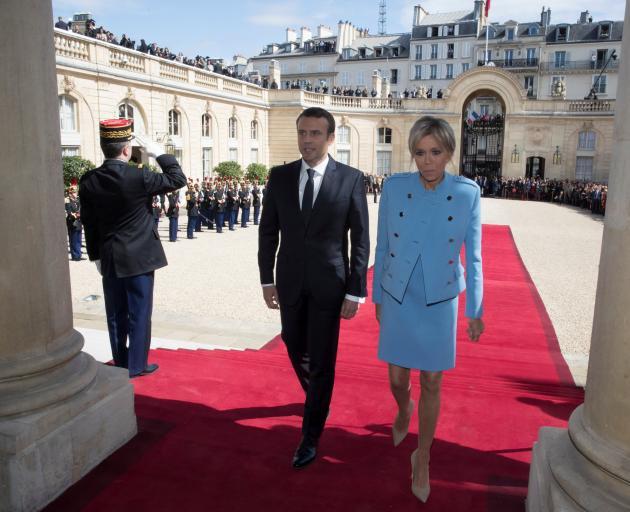 Macron takes power as French president