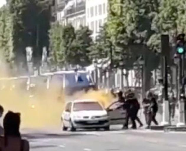 Anti-terror probe opened in Paris car attack
