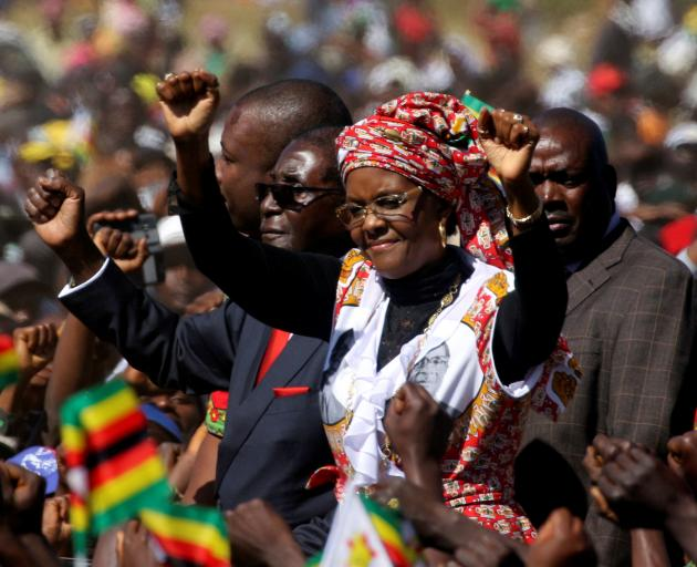 Grace Mugabe returns to Zimbabwe