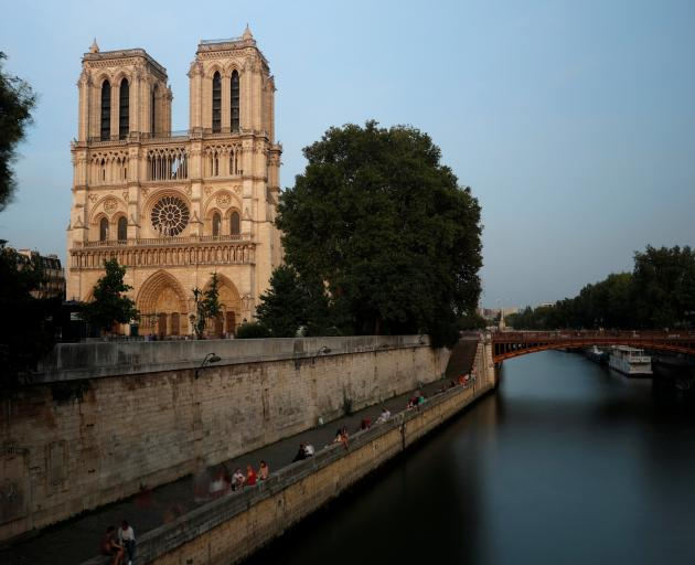 Church authorities hope the cathedral's worldwide fame will attract donors. Photo: Reuters