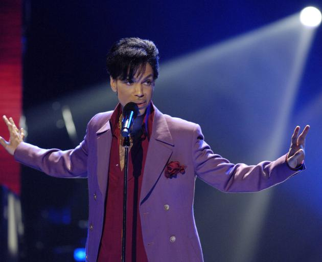 Prince died in April last year and did not leave a will. Photo: Reuters