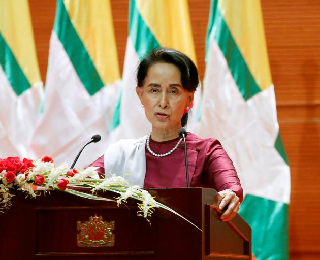 Aung San Suu Kyi. Photo: Reuters