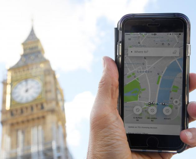 Uber has 40,000 drivers working in London and is expected to appeal the decision. Photo: Reuters
