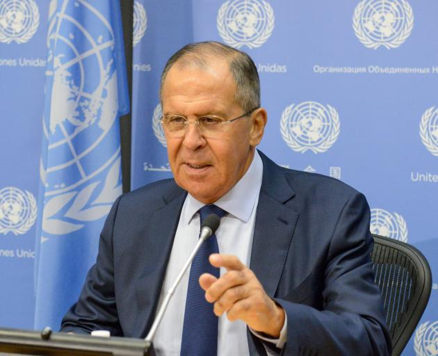 Russia's Foreign Minister Sergey Lavrov. Photo: Reuters