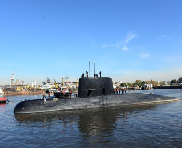 US Navy Poseidon aircraft join search for missing Argentine submarine