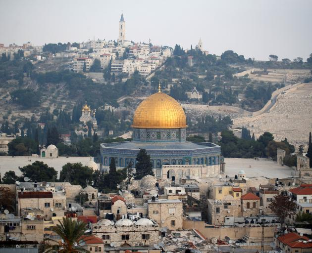 Donald Trump promised during the 2016 presidential campaign to move the embassy to Jerusalem. Photo: Reuters