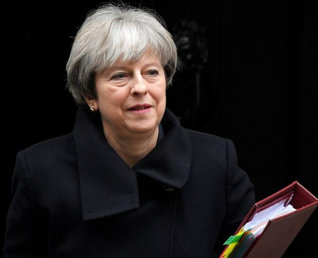 Theresa May has vowed to stick to her plan to negotiate the closest possible trade ties with the...