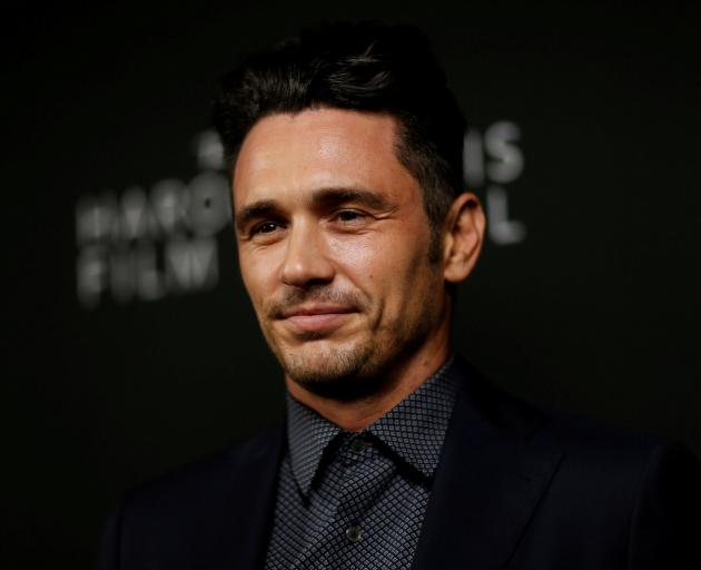 Accusations about James Franco were posted on Twitter soon after he won a Golden Globe. Photo:...