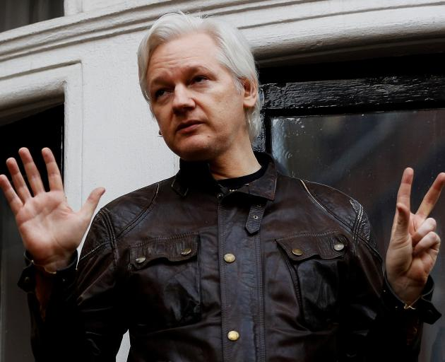 Julian Assange has been living at Ecuador's embassy in London since he was granted asylum in 2012. Photo: Reuters
