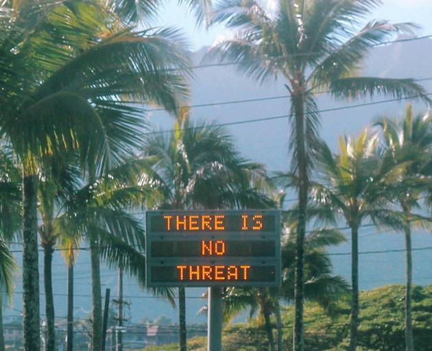 Report issued on Hawaii false missile alert
