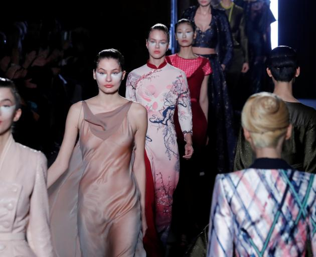 Julien Fournie Haute Couture Spring-Summer 2018. Photo: Reuters