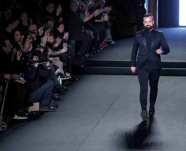 Designer Julien Fournie last year became a permanent member of France's select Haute Couture club...