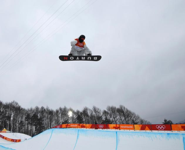 Shaun White's victory means the US have won all four snowboarding golds awarded at the Winter...